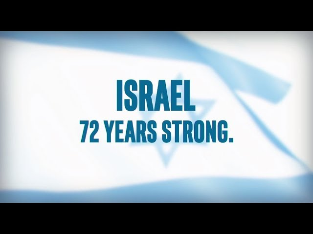 Israel 72 Years Strong