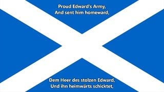 Schottische Nationalhymne (EN/DE Text) - Anthem of Scotland