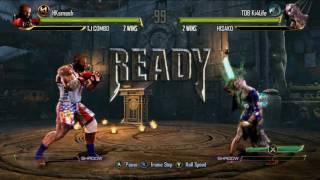 Killer Instinct FT5 TDB Ki4Life (Hisako) vs HKsmash (TJ Combo)