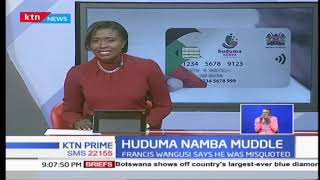 Senetor Mutula Kilonzo's sentiments on Huduma namba registraion