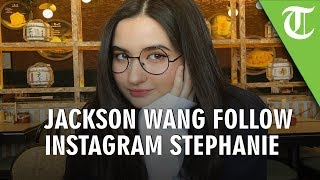 Jackson GOT7 Follow Instagram Stephanie Poetri