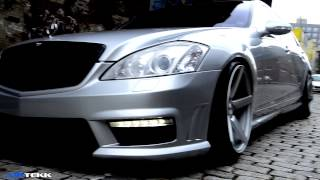 El Jefe W221 Mercedes S class S550 AMG Air ride Airtekk Engineering Jesus TNB
