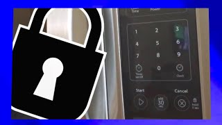 How To Lock and Unlock the Microwave Keypad