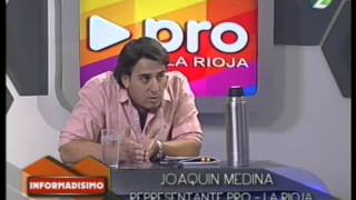 preview picture of video 'Entrevista a Joaquin Medina Apoderado del Pro La Rioja'