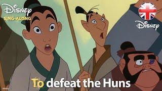 DISNEY SING-ALONGS   I'll Make A Man Out Of You - Mulan Lyric Video   Official Disney UK