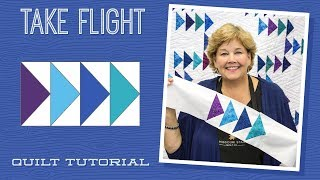 Make A Take Flight Quilt With Jenny Doan Of Missouri Star! (Video Tutorial)