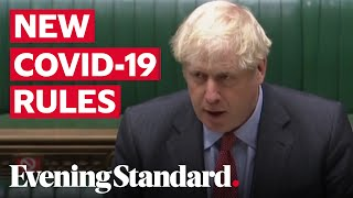 Boris Johnson announcement: All you need to know about the new lockdown rules