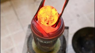 Iron Ball 1000 degree and Cafe - Amazing experiment