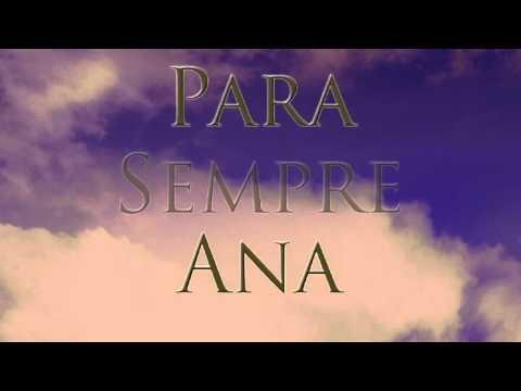Sinopse em vídeo do livro Para Sempre Ana