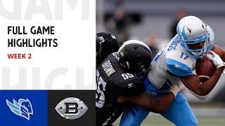 AAF Football League | Salt Lake Stallions At Birmingham Iron   Week 2 Full Game HD