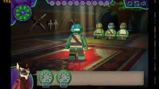Лего черепашки ниндзя игры прохождение победители фабрики звезд всех