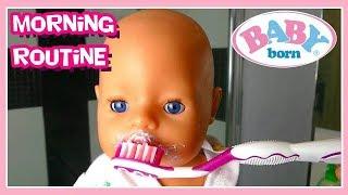La Poupée BABY BORN Doll Se Reveille Le Matin
