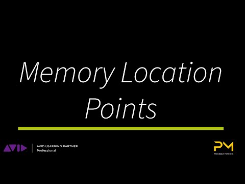 Marker Memory Locations in Pro Tools - Tutorial - YouTube