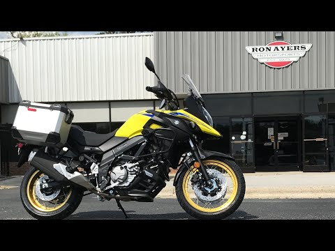 2021 Suzuki V-Strom 650XT Adventure in Greenville, North Carolina - Video 1