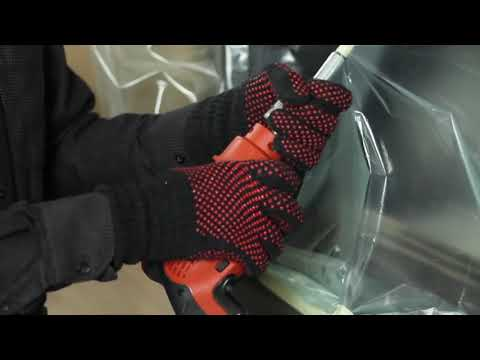 Kit rotativ complet pentru curatarea cosului de fum