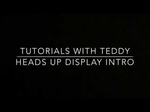 Mazda's Heads Up Display Intro (Part 1)