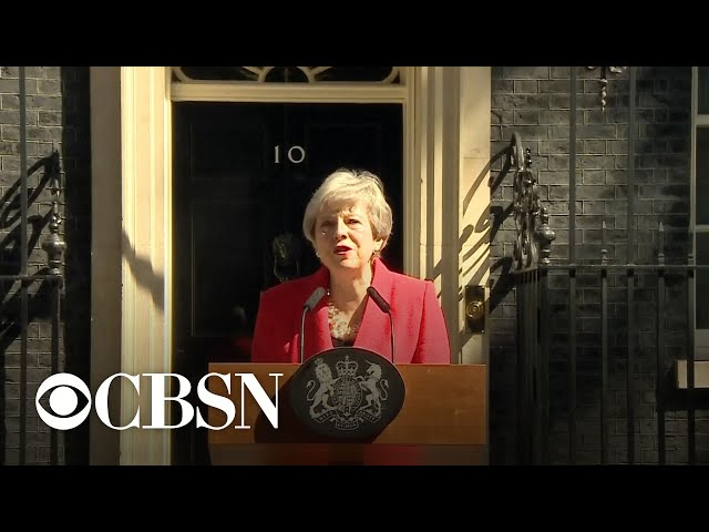 British PM Theresa May to step down after multiple Brexit failures