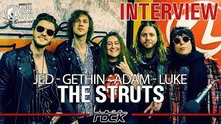 THE STRUTS   Interview @Linea Rock 2019 By Barbara Caserta