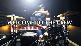 WELCOME TO THE CREW - ANNALYNN | Drum cover | Beammusic
