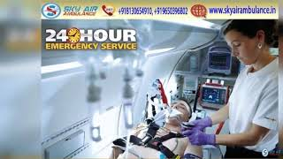 Choose World-Level and Hi-tech Air Ambulance from Patna