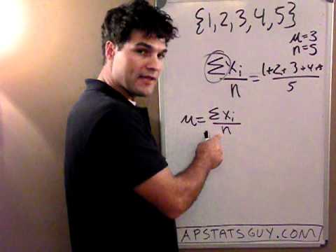 """What is a """"Standard Deviation?""""  and where does that formula come from"""