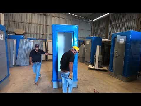 Roto Molded HDPE Porta Loo Portable Mobile  Washroom