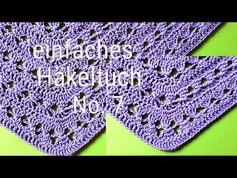 2113 Mb Download Häkeltuch 7 Einfaches Dreieckstuch Häkeln Mp3 And