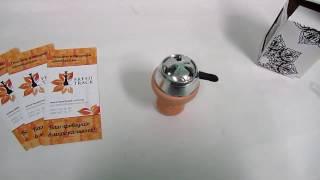 Чаша для кальяна Euro Shisha BGK-41 с Euro Shisha Lotus, видеообзор 1