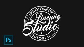 Cara Desain Logo Distro Tema Retro Dengan Photoshop - Photoshop Tutorial Indonesia