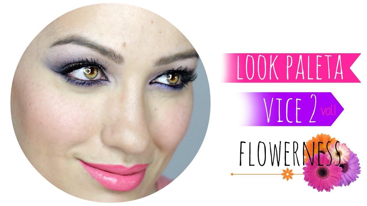 Look Vice 2: Flowerness, con dos opciones de labiales (Nuevos Luxe Cream Lipstick de Zoeva)
