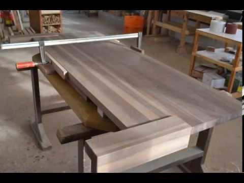 So entsteht ein Massivholz Bett aus Walnuss in der Schreinerei HOLZ-SIGI