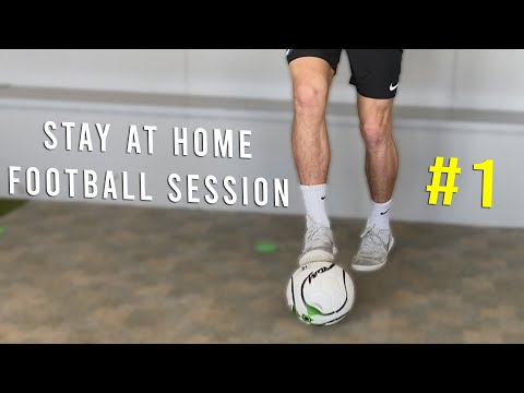 STAY AT HOME SOCCER/FOOTBALL SKILLS TO LEARN! *Online Session*
