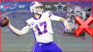 Josh Allen Doesn't Need A Golden Ticket To Be Great!! (Madden 20 Regs)