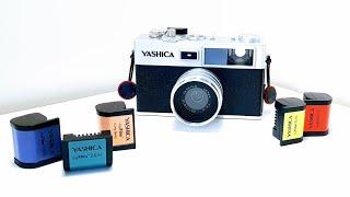 The Worlds First DIGITAL Film Camera! | Yashica Y35