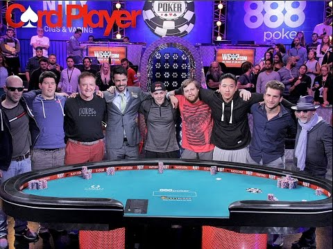November Nine for World Series of Poker 2015
