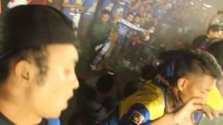 Arema Vs Persipura  Janji Sumpah Setia <b>Arema Selamanya</b>  Stadion Maguwoharjo Sleman
