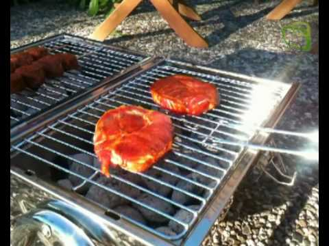 Enders Picknickgrill aus Edelstahl