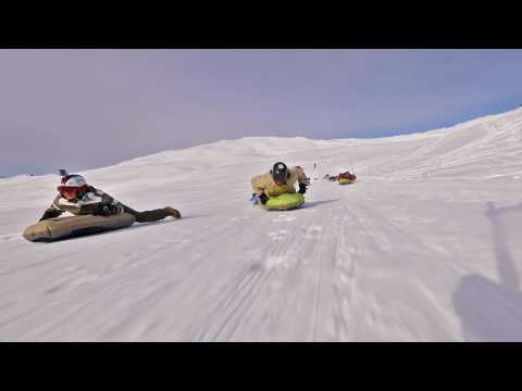 Airboard - The inflatable Snow-Bodyboard