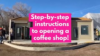 How to start a coffee shop || The first steps!