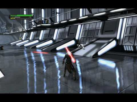 Gameplay de Star Wars: The Force Unleashed - Sith Edition