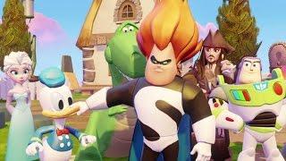 Disney Infinity 3.0 - Toy Box Takeover Walkthrough Part 1 - Hulk Of The Caribbean