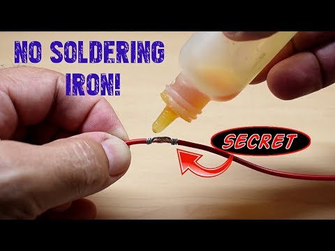 How To EASILY Solder Wires Together!(Alternate Method)
