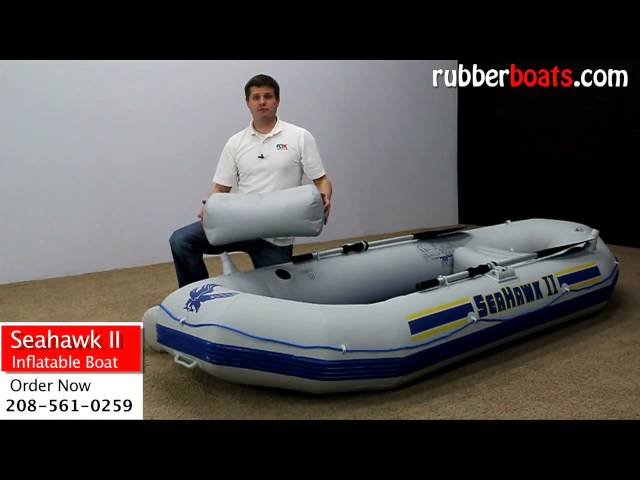 Intex Seahawk ii 2 Inflatable Fishing Boat Video Review by Rubber Boats