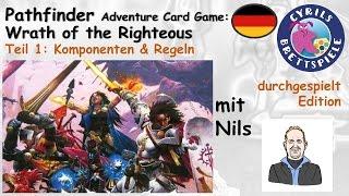 Cyrils Brettspiele - Pathfinder ACG Brettspiel (S89E01) - Regeln & Komponenten