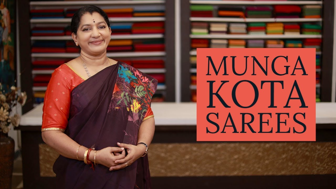 """<p style=""""color: red"""">Video : </p>NEW MUNGA KOTA SAREES COLLECTIONS 