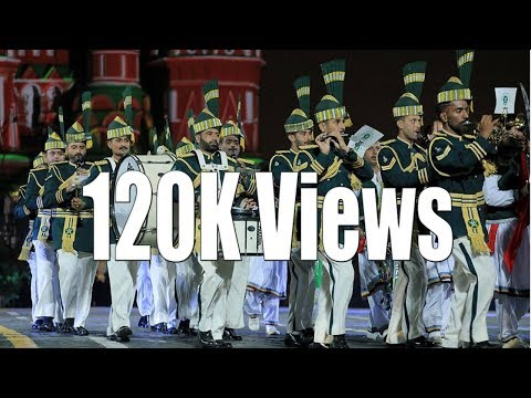 Pakistan Army Music Band Performing in Moscow, Russia