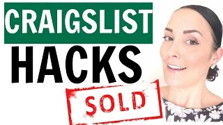 CRAIGSLIST HACKS ● BEING SUCCESSFUL & SAFE WHEN SELLING ON CRAIGSLIST  ●  MINIMALISM SELL YOUR STUFF