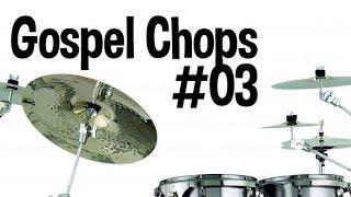 Gospel Chops na bateria - frase em sextina!