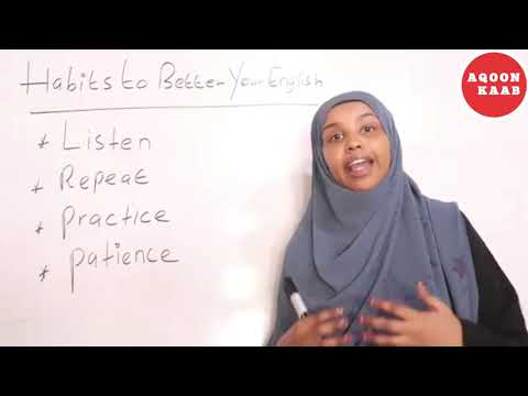Barashada luuqada English ka