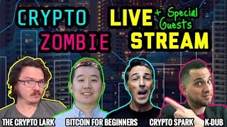 Whats Happening With Crypto? Late Night Chat w/ Crypto Lark | Bitcoin For Beginners | Crypto Spark #bitcoinify